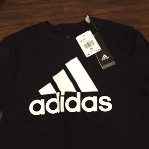 New with tag black Women's adidas t-shirt